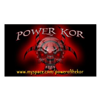 POWER BB CARDS BUSINESS CARDS
