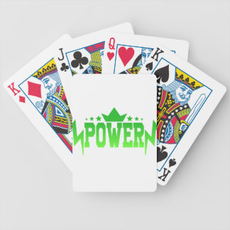 POWER BICYCLE PLAYING CARDS