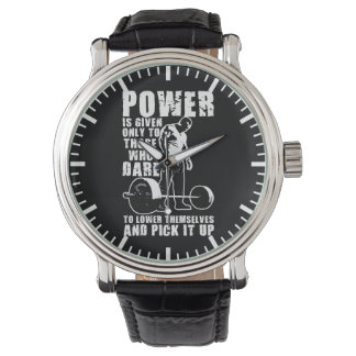 POWER - Bodybuilding Motivational Watch