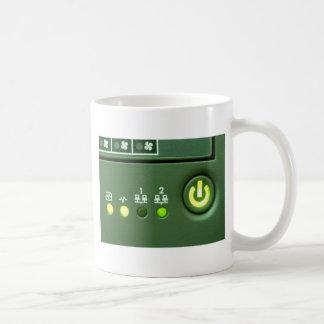 power button and indicator lights coffee mugs