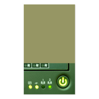 power button and indicator lights pack of standard business cards