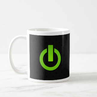 Power Button On Coffee Mug