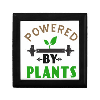power by plants cute design gift box