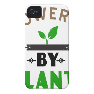 power by plants cute design iPhone 4 case