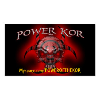 POWER CARDS PACK OF STANDARD BUSINESS CARDS