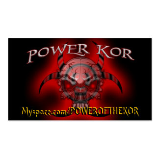 POWER CARDS - Customized Pack Of Standard Business Cards