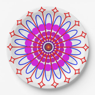 Power Circle Paper Plate