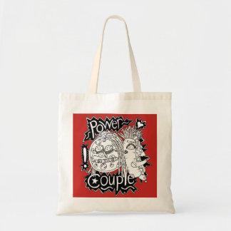 Power Couple Black And White Tote