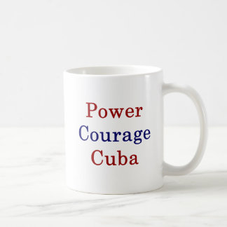 Power Courage Cuba Coffee Mug