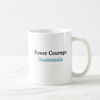 Power Courage Guatemala Coffee Mug