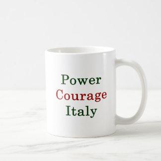 Power Courage Italy Coffee Mug