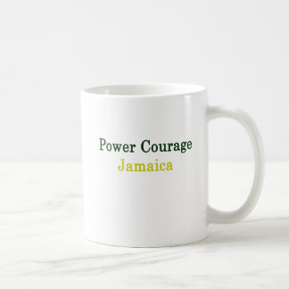 Power Courage Jamaica Coffee Mug