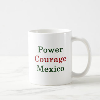 Power Courage Mexico Coffee Mug