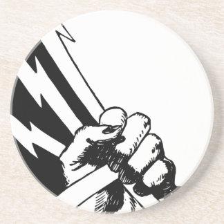 Power Fist Coaster