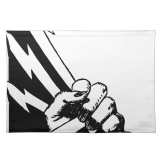 Power Fist Placemat