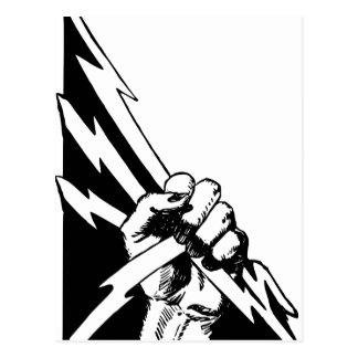 Power Fist Postcard
