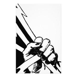 Power Fist Stationery