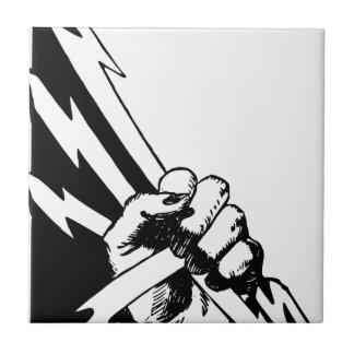 Power Fist Tile