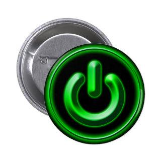 Power Green Button