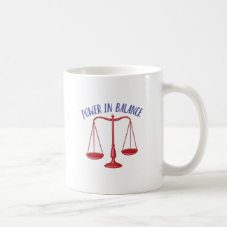Power In Balance Coffee Mug
