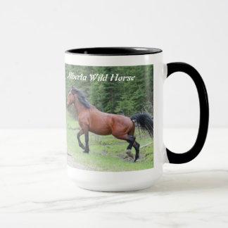 """Power in Motion""   Alberta Wild Horse Mug"