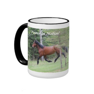 """Power in Motion""   Alberta Wild Horse Mugs"