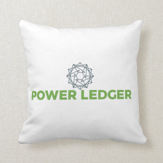 Power Ledger POWR Logo Pillow
