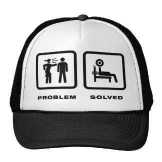 Power Lifting Mesh Hats