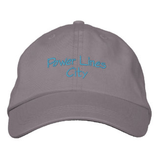 Power Lines City Hat Baseball Cap