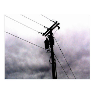 Power Lines Postcard
