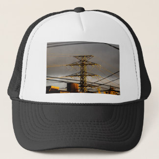 Power Lines Trucker Hat