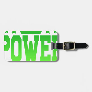 POWER LUGGAGE TAG