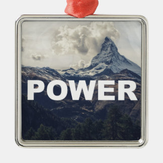 Power Metal Ornament