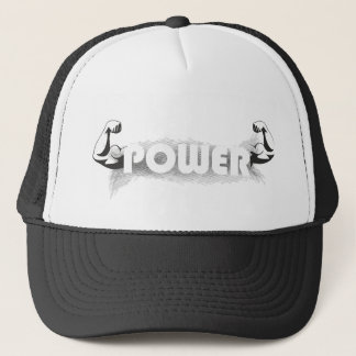 Power Muscle Drawing Hat