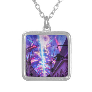 Power Of Fremont Street Silver Plated Necklace