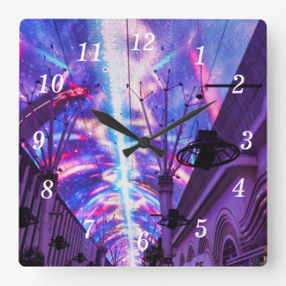 Power Of Fremont Street Square Wall Clock