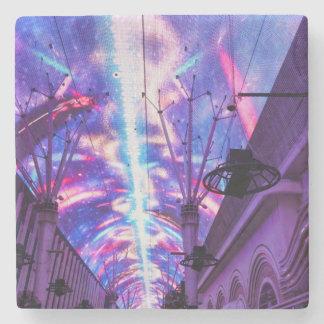 Power Of Fremont Street Stone Coaster