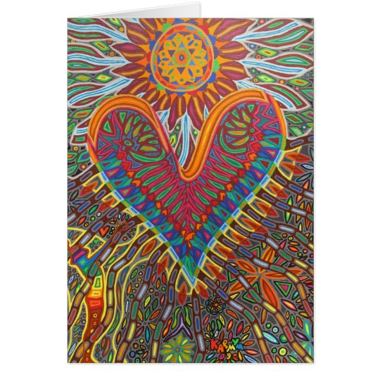 power of love 2009 (greeting card) card