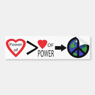Power of Love Bumper Sticker