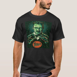 power  of nikola tesla T-Shirt