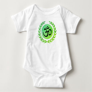 POWER OF OM BABY BODYSUIT