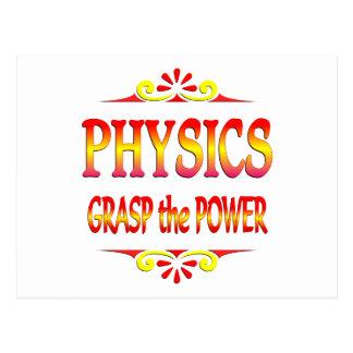 Power of Physics Postcard