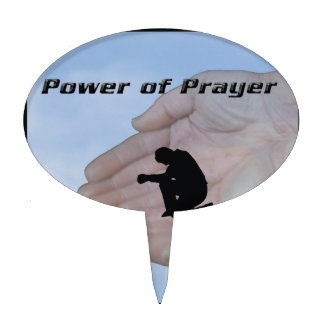 Power of Prayer Cake Toppers
