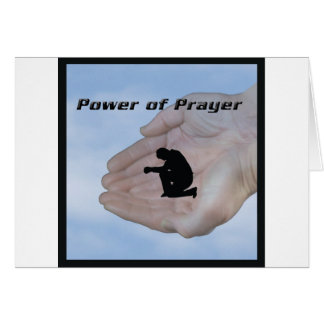 Power of Prayer Greeting Card