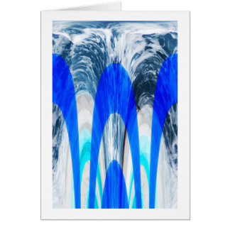 Power of the oceans greeting card