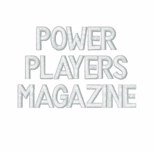 POWER PLAYERS MAGAZINE SHORT SLEEVE POLO KNIT