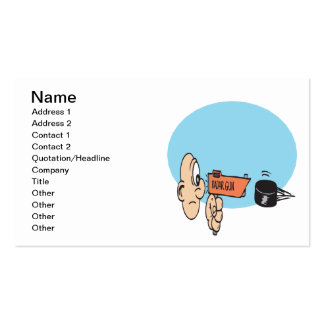 Power Shot Pack Of Standard Business Cards