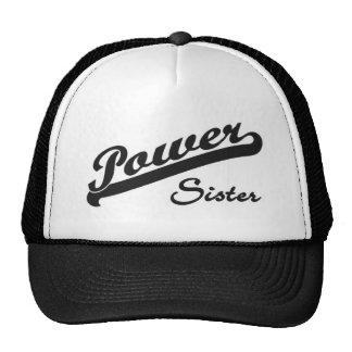 Power Sister Mesh Hats