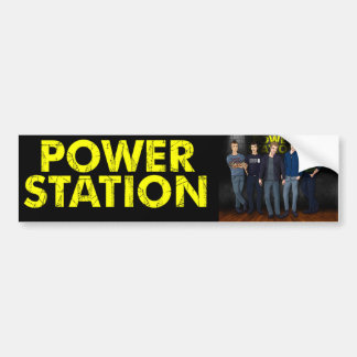 Power Station Guitar Case Sticker Bumper Sticker