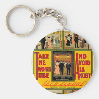 Power station London (I had) Railway, by unknown Key Ring